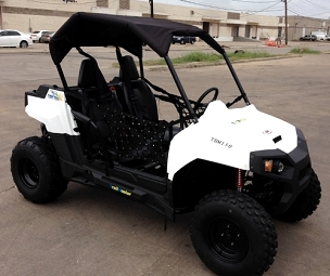 BMS Sniper T-1500 4 Seat - 5 Speed 108 HP 2x4 Buggy - Free